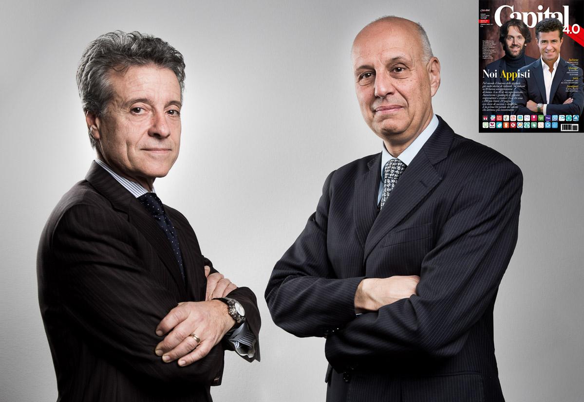 Bruno Villani e Romano Ambrogi