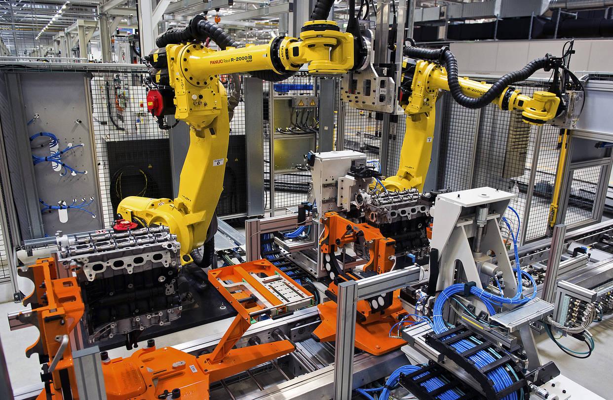 Robot occupazione