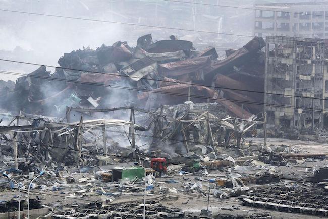 Esplosioni Tianjin: chiesti risarcimenti per il disastro, 114 vittime