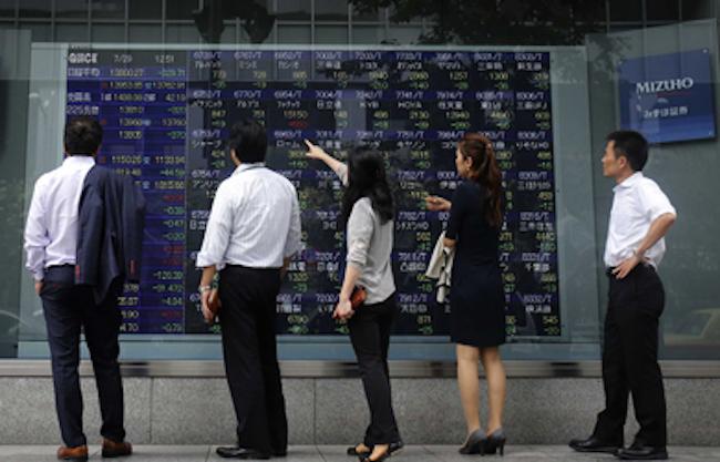 48264adea2 La borsa di Tokyo crolla del 7,9%, prevista tempesta in Europa ...