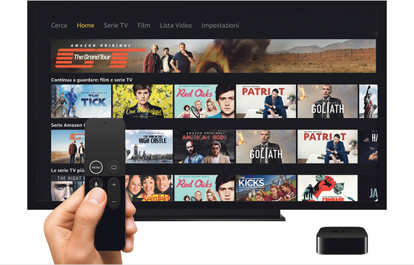how to get amazon prime video on tv
