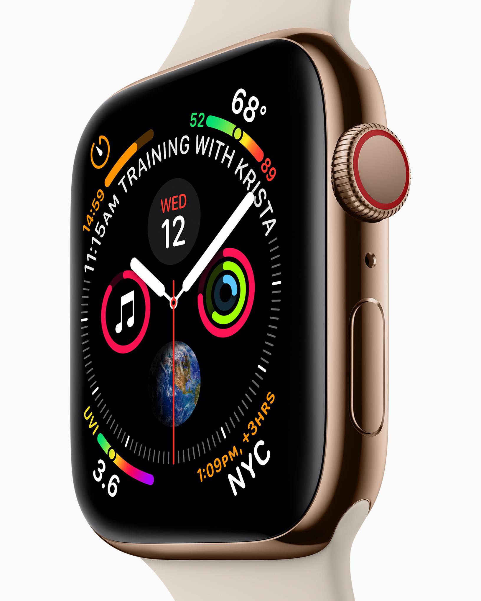 Una Mela Al Polso Leva Il Medico Di Torno La Prova Di Apple Watch